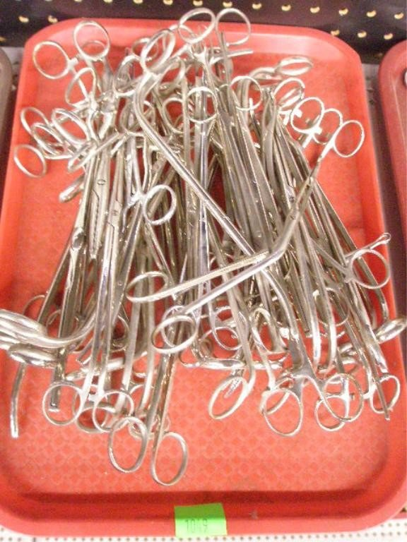 1049: Lot of 46 Assorted Surgical Clamps