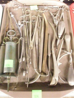 Lot Of Misc Surgical Instruments