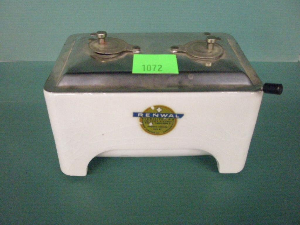 1072: Porcelain Sterilizer By American Sundries Co.