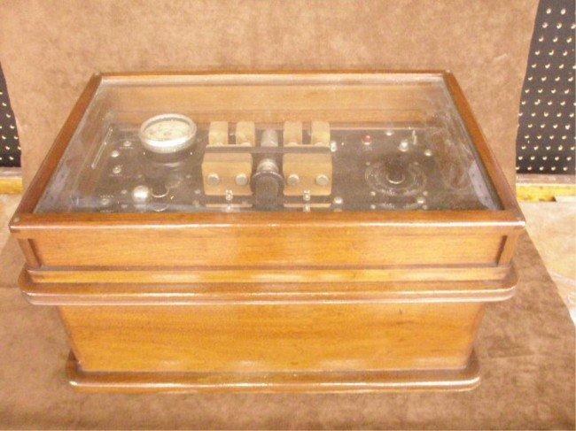 1091: H.G. Fischer Electroshock Therapy Machine