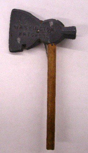 Vintage Washington Hatchet Stickpin