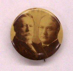 """1151: 1908 Taft/Sherman 7/8"""" Jugate Pin"""