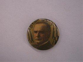 1899 William McKinley Button