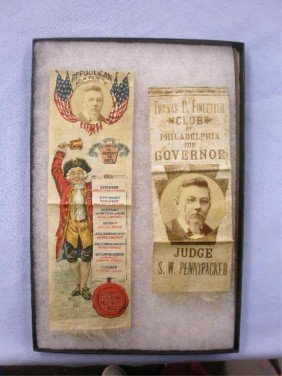Pennypacker For Governor Campaign Ribbons
