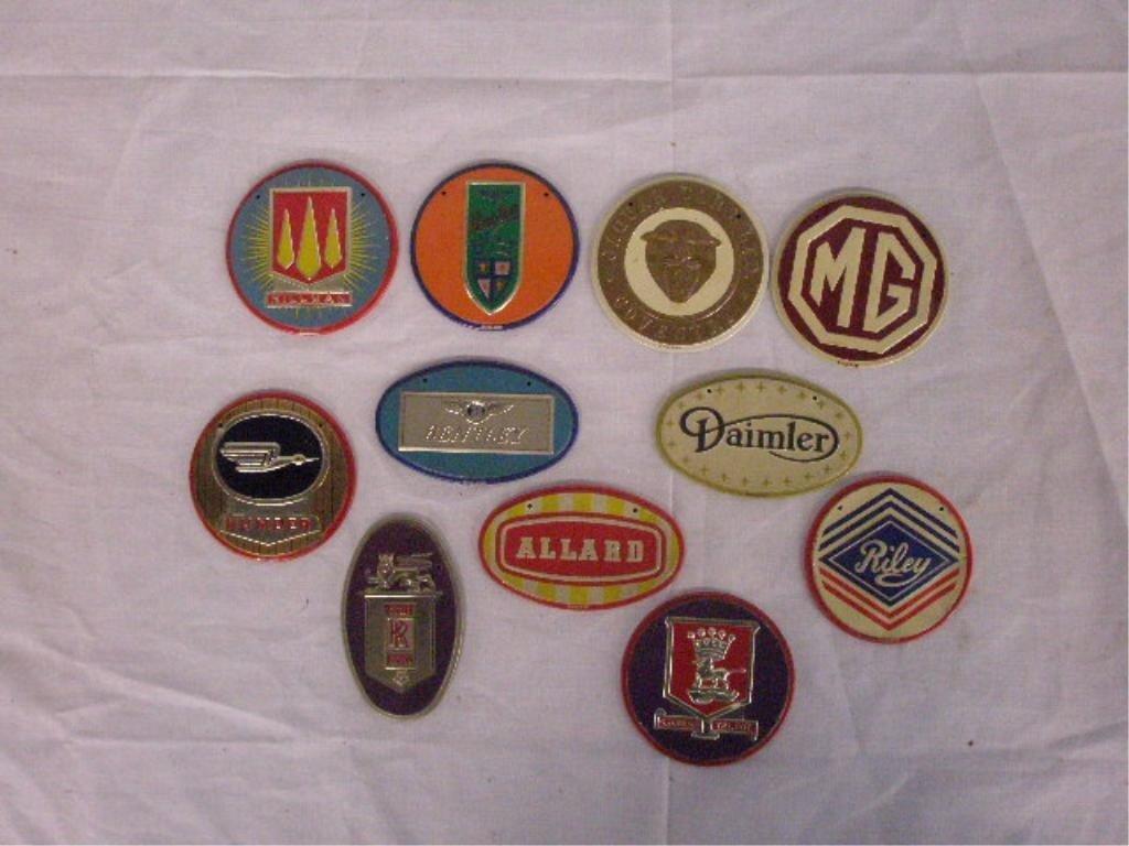 1295: 1950's Wheaties Cereal Premium Car Emblems - 2