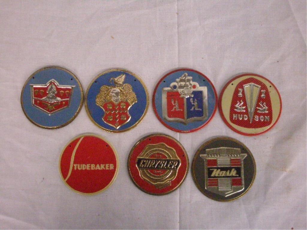 1295: 1950's Wheaties Cereal Premium Car Emblems - 4