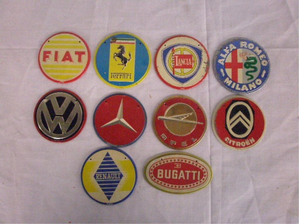 1295: 1950's Wheaties Cereal Premium Car Emblems - 6