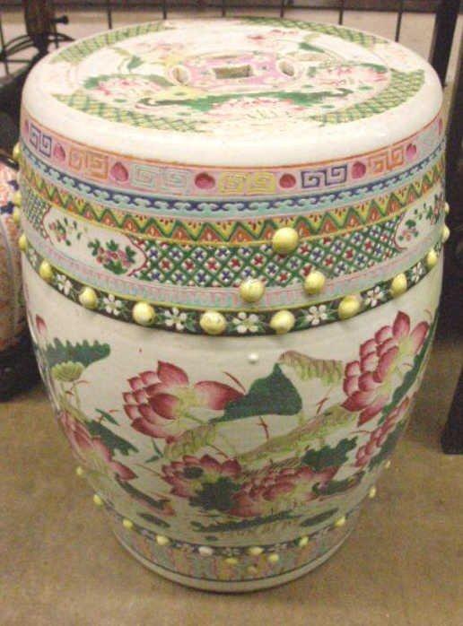 1216: Chinese Porcelain Garden Seat