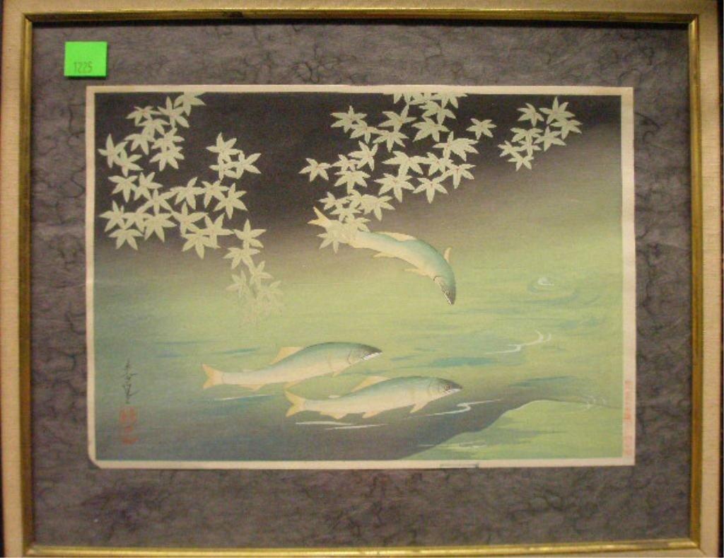 1225: Japanese Woodblock Print