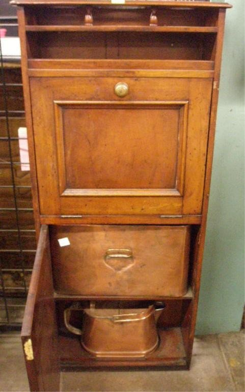 1308: Antique Ship's Washstand - 6
