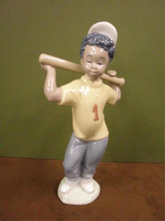2008: Lladro Next At Bat Figure
