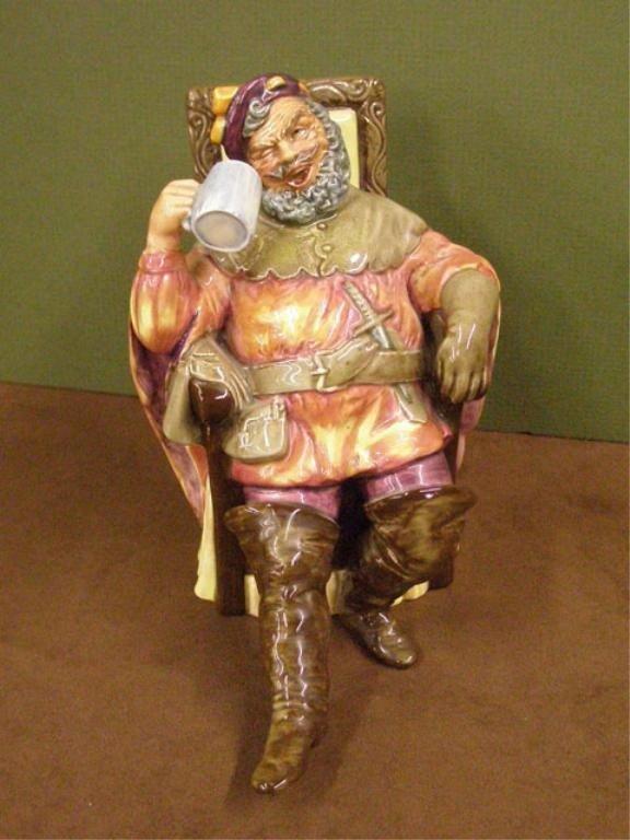 2009: Royal Doulton The Foaming Quart Figure