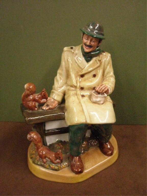 2011: Royal Doulton Lunchtime Figure