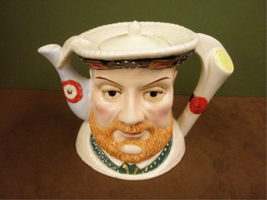 2029: James Sadler Pottery Henry VIII Teapot