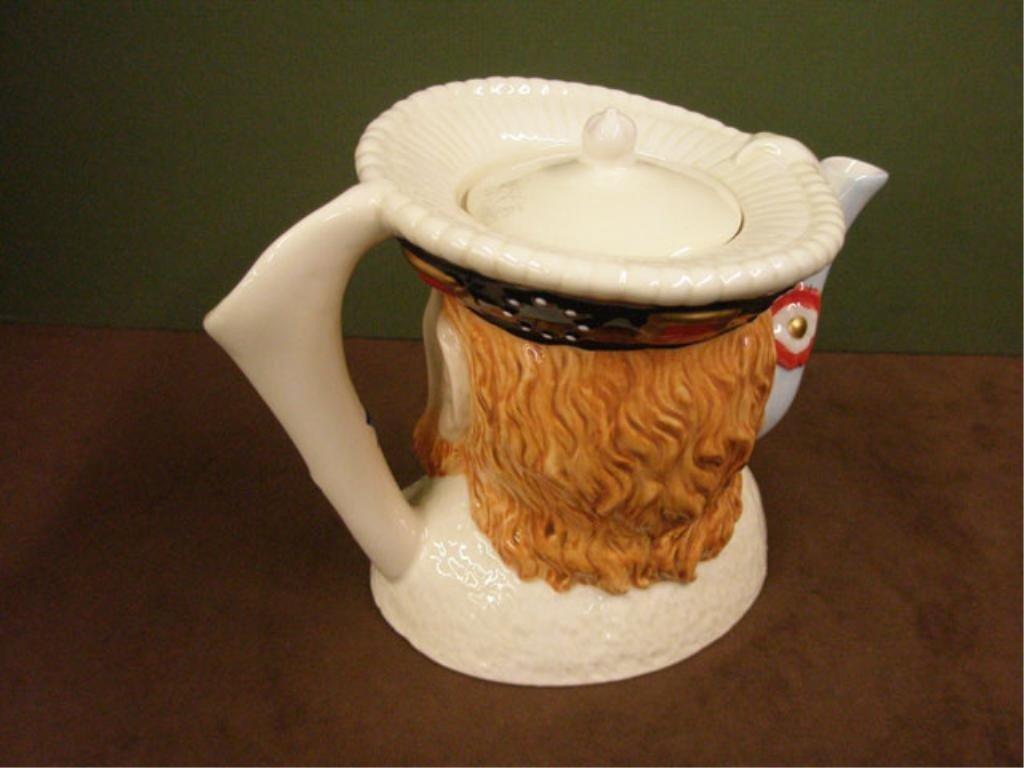 2029: James Sadler Pottery Henry VIII Teapot - 2