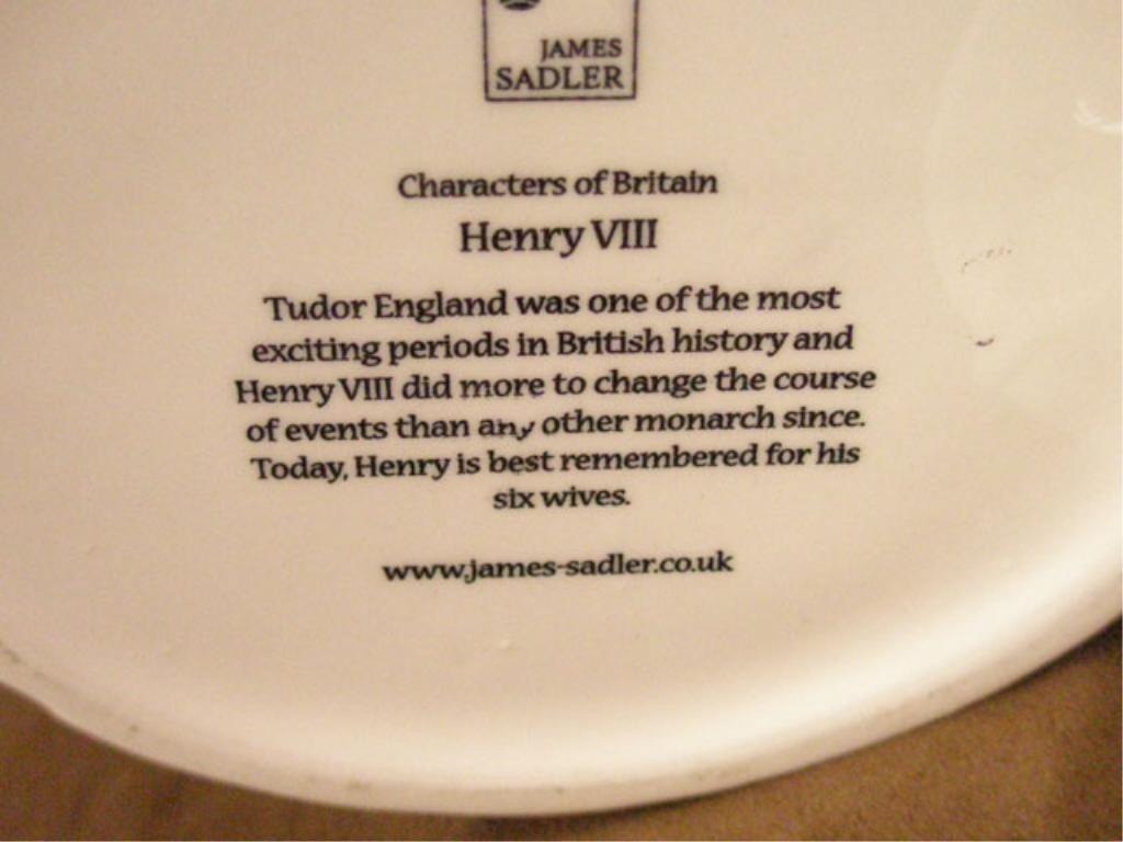 2029: James Sadler Pottery Henry VIII Teapot - 4