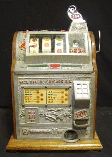 6255: 1930's Pace slot machine