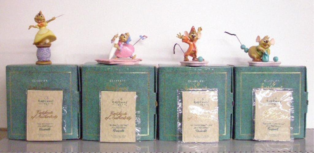 3: Walt Disney Classics Collection Figurines