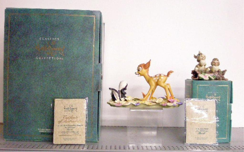 6: Walt Disney Classics Collection Figurines