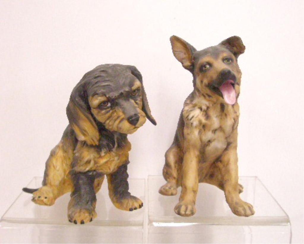 15: Kaiser Porcelain Dog Figurines