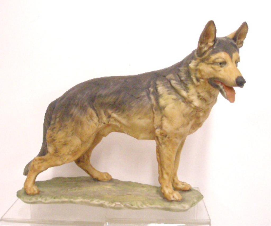 16: Kaiser Porcelain German Shepherd Figurine