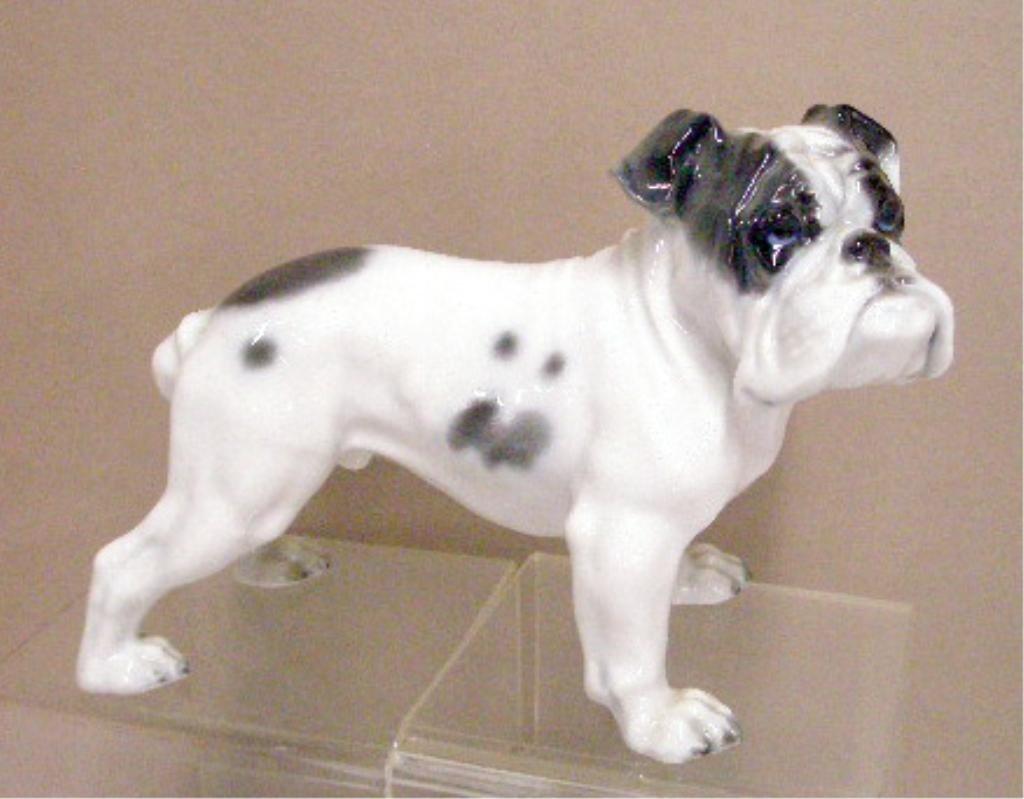 21: Rosenthal Porcelain Bulldog Figurine