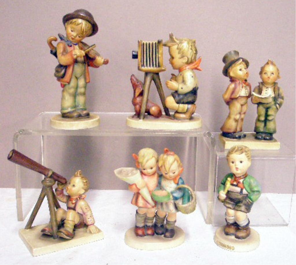 23: Six Hummel Figurines