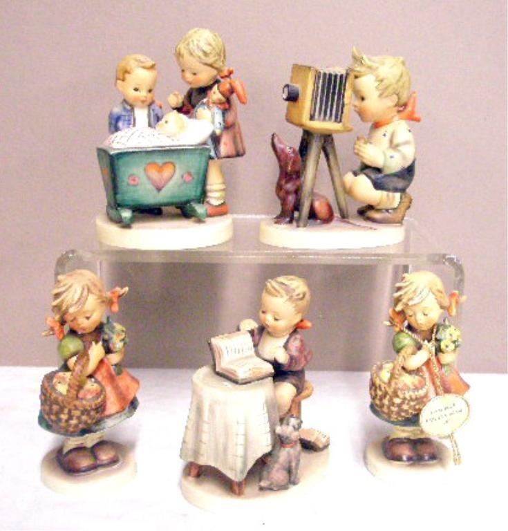 24: Five Hummel Figurines