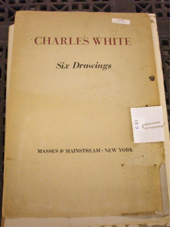415D: Charles White Portfolio-6 African American Prints