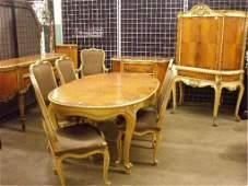 607: Louis XV Style 10 Piece Dining Room Set