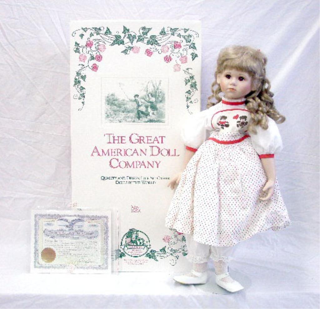 2: Elke Hutchens Porcelain Bernadette Doll