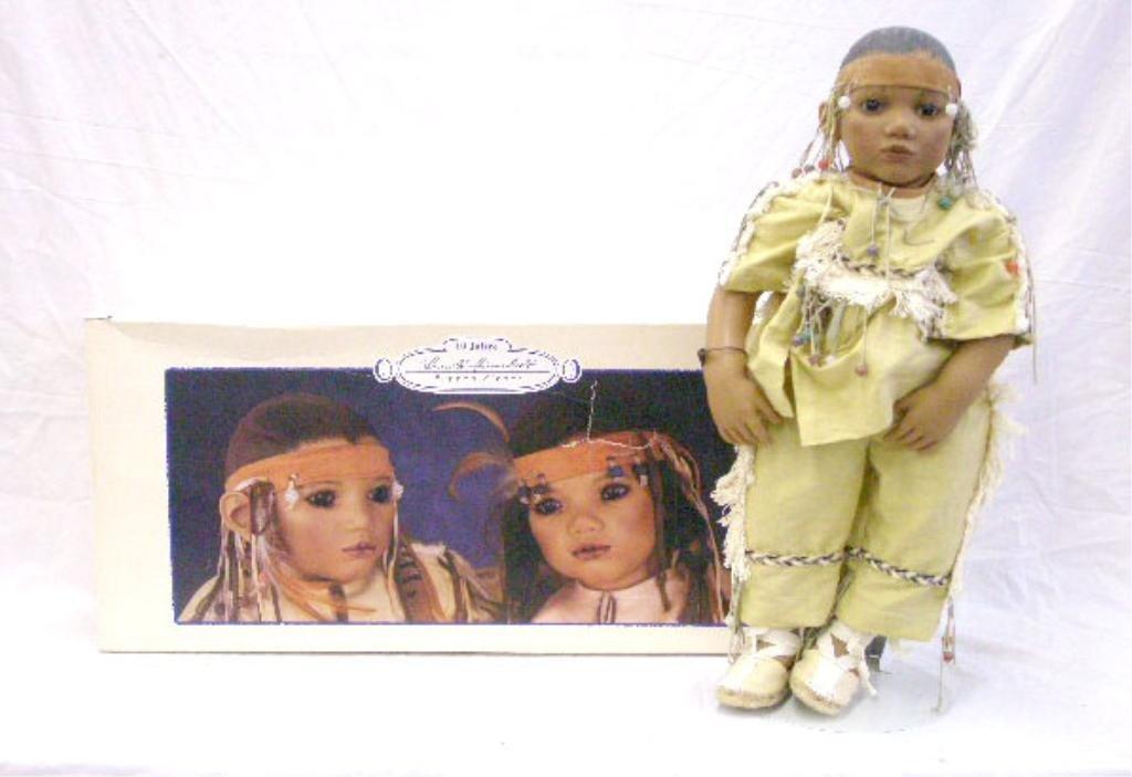 8: 1995 Annette Himstedt Takuma Doll