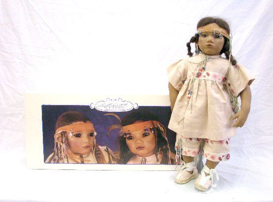 9: 1995 Annette Himstedt Takumi Doll
