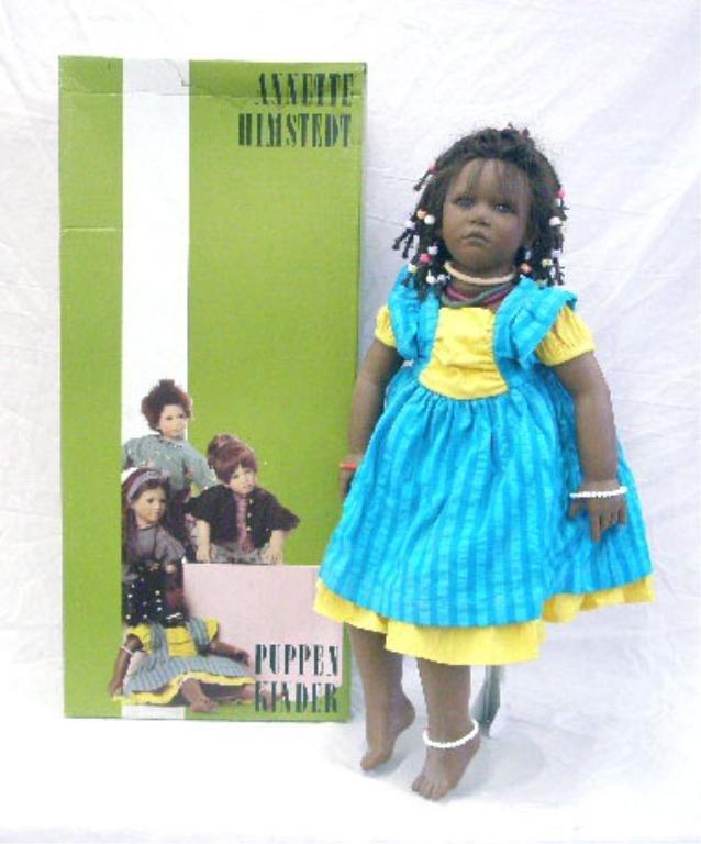 13: 1998 Annette Himstedt Ayoka Doll
