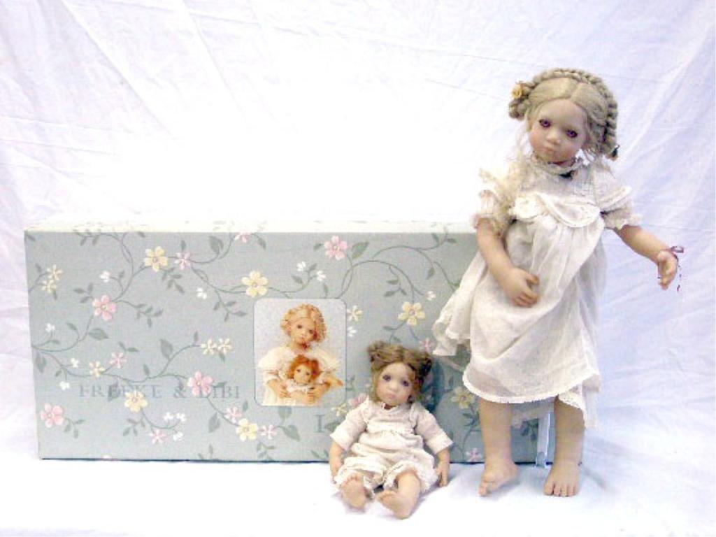 21: 1997 Annette Himstedt Freeke & Bibi Doll