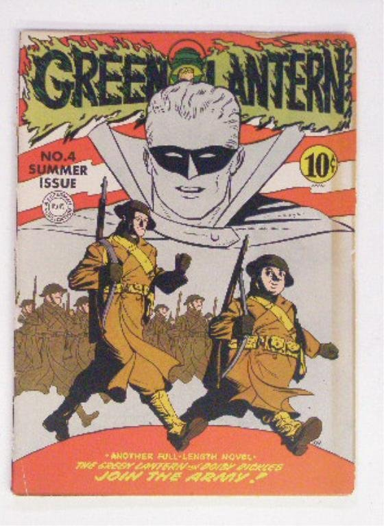 208: 1942 Green Lantern #4 Comic Book