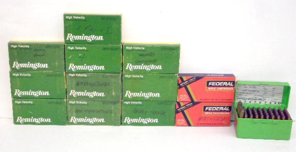 1000D: Box of 35 Remington Cal Ammo