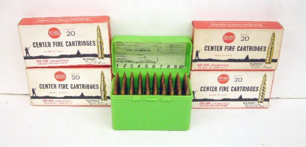 1000G: Lot of 30-60 Springfield Center Fire Cartridges