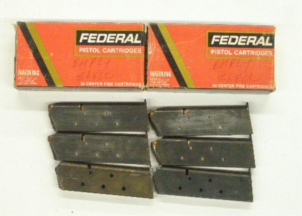 1000H: Lot of 45 Automatic Cal. Ammo