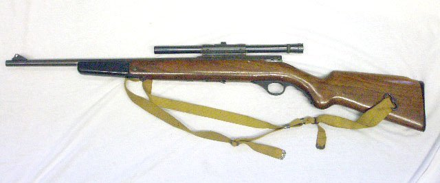 1009: Mossberg Long Rifle For Parts or Repair