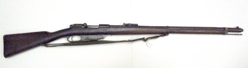 1012: GEW 88 Carcano Bolt Action Military Rifle