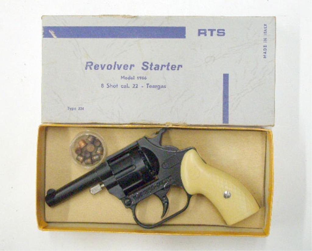1025: RTS Revolver Starter Pistol