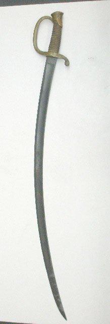 1043A: Civil War Light Artillery Saber