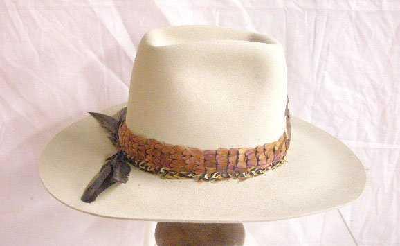 1251  Biltmore Silver Buckle Beaver Cowboy Hat e4610bcb9ad3