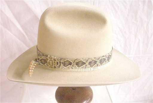 1256  Resistol 5X Beaver Trimbrim Cowboy Hat e776297339b