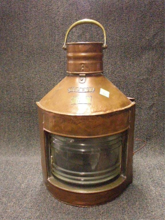 122: Early 20th c. Ship's Light