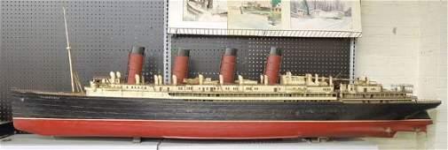 192 RMS Mauretania Large Scale Model