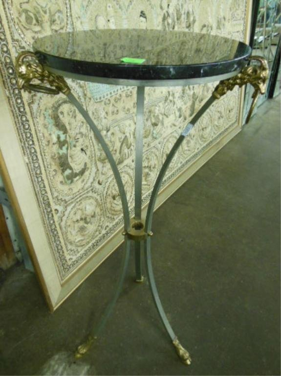 1279: French Empire Style Plant Stand