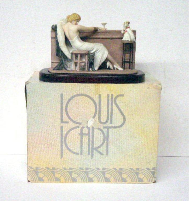 2004: Louis Icart Cocktail Porcelain Figurine