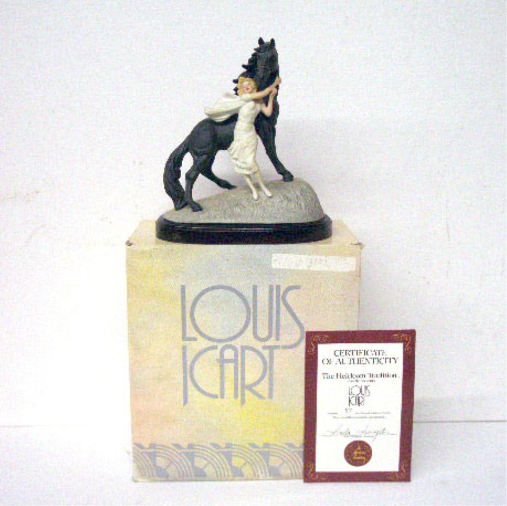 2006: Louis Icart Jeunesse Porcelain Figurine